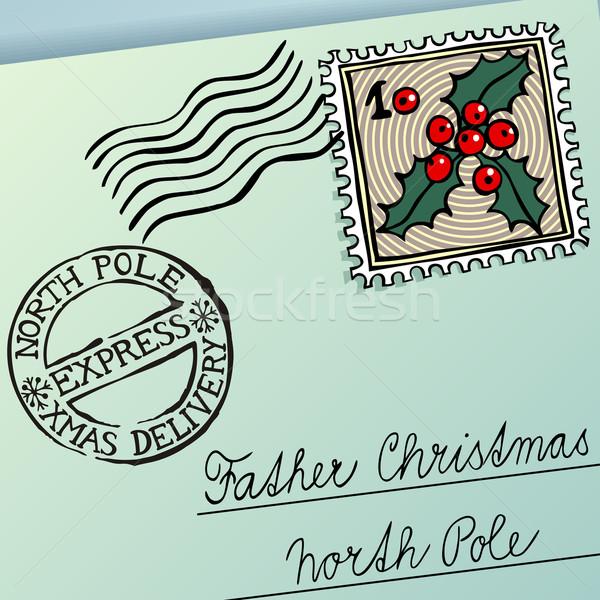 Christmas Letter Stock photo © oliopi