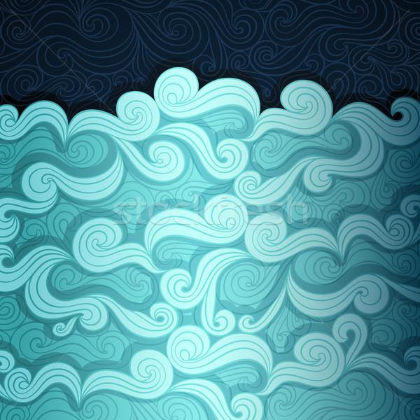 The Sea Banner Stock photo © oliopi