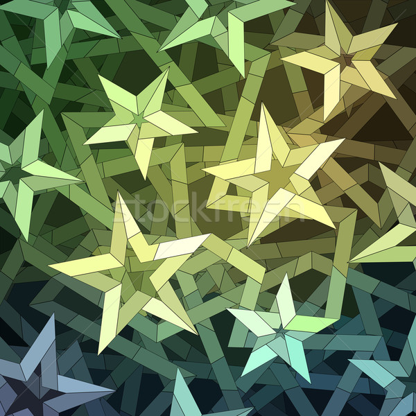 Christmas geometrisch patroon vector eps8 illustratie Stockfoto © oliopi
