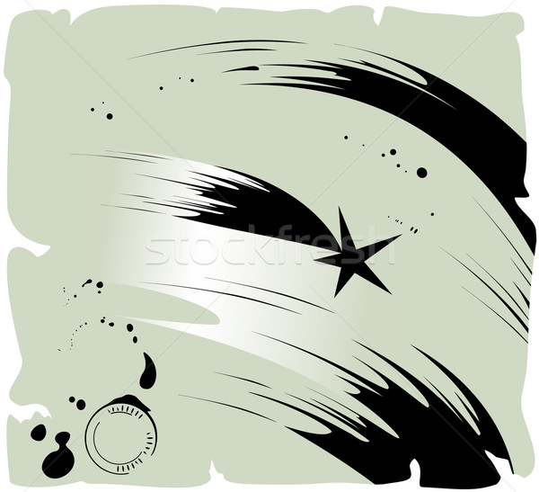 комета падающая звезда вектора eps8 иллюстрация небе Сток-фото © oliopi
