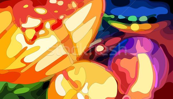 красочный китайский вектора eps8 иллюстрация Сток-фото © oliopi