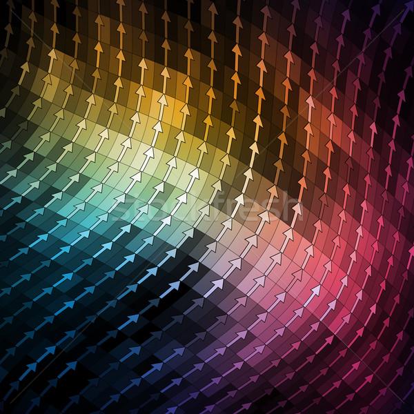 Colorful Mosaic Banner Stock photo © oliopi