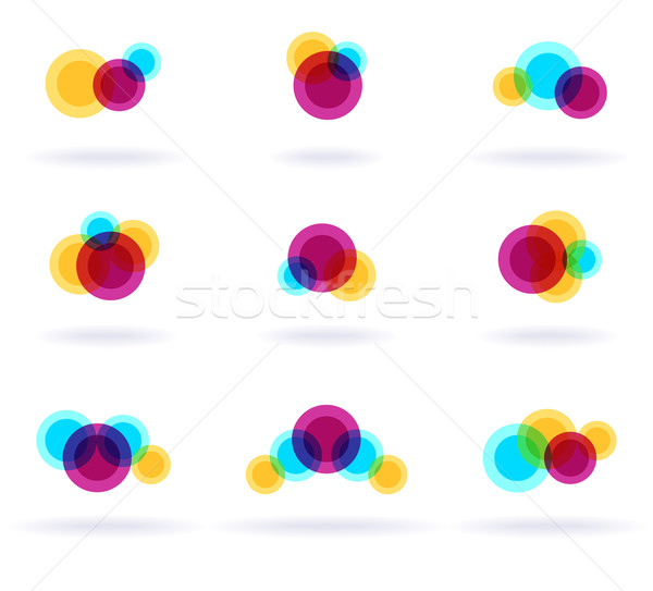 Colorful Symbols Stock photo © oliopi