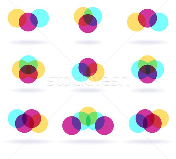 Colorful Symbols Stock photo © oliopi