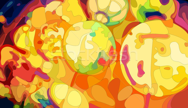 Colorful Chinese Lanterns Stock photo © oliopi