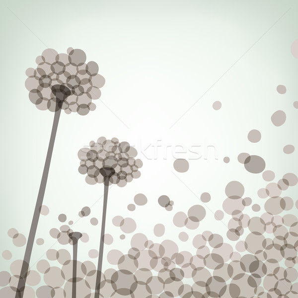 цветочный вектора eps8 иллюстрация цветок Сток-фото © oliopi