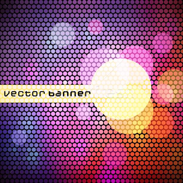 Renkli uzay metin vektör eps8 doku Stok fotoğraf © oliopi