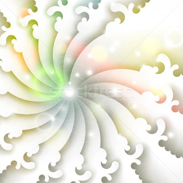 аннотация вектора eps10 иллюстрация цветок Сток-фото © oliopi