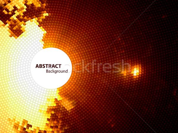 аннотация пространстве текстуры фон кадр оранжевый Сток-фото © oliopi