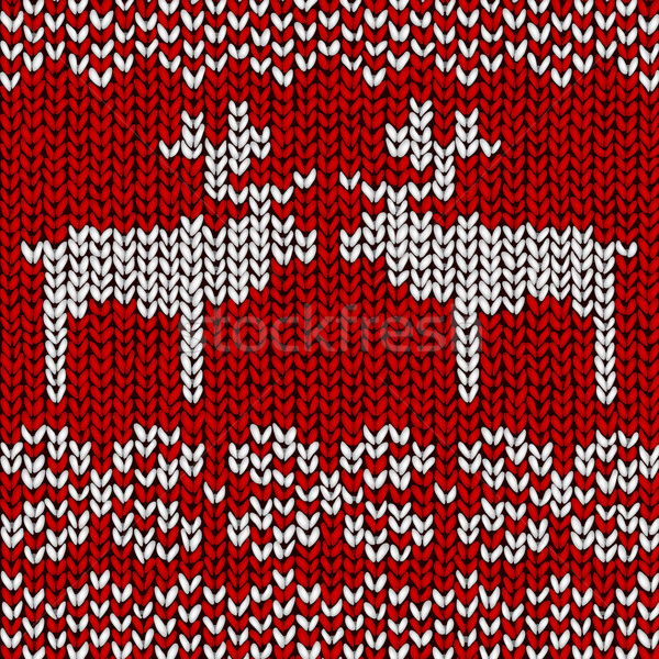 Stock photo: Reindeer Jumper