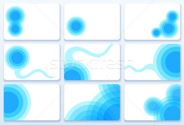 Business Cards Stock photo © oliopi