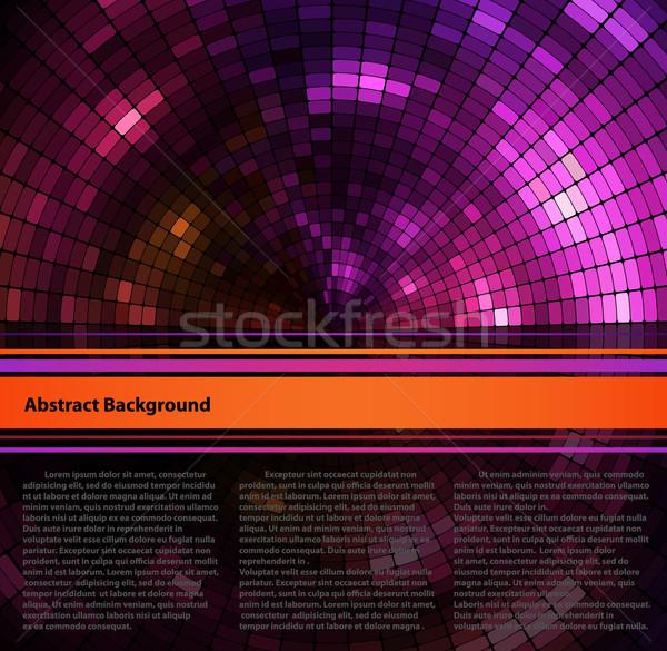 аннотация пространстве дизайна фон черный графических Сток-фото © oliopi