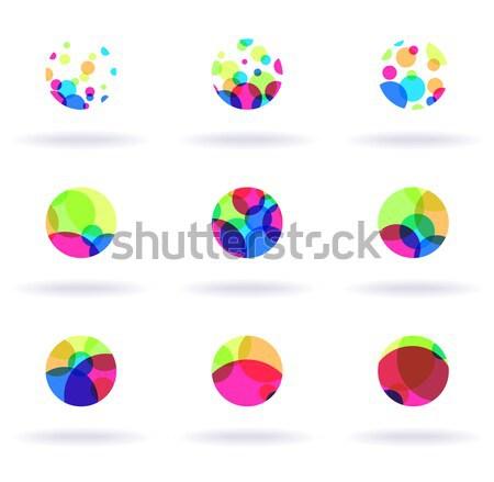 Colorful Icons Stock photo © oliopi