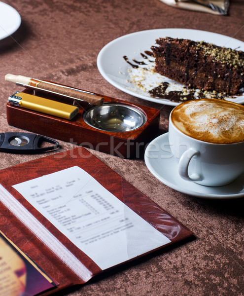 restaurant table Stock photo © olira
