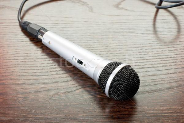 microphone Stock photo © olira