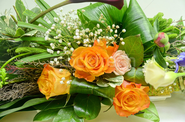 Wedding Bunch of flowers Stock photo © olira