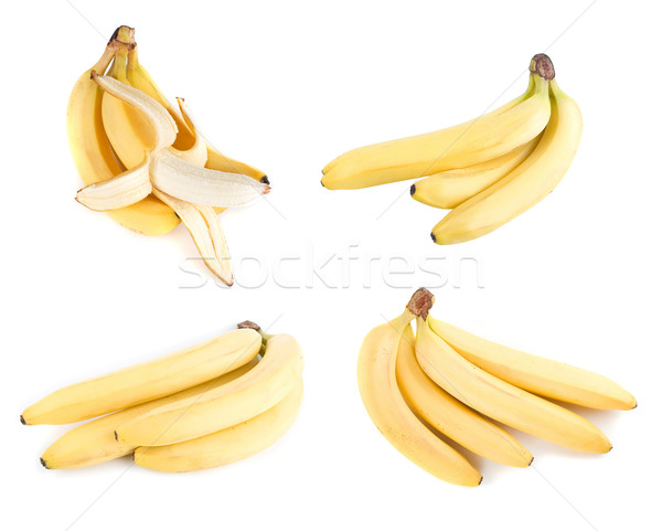Stock photo: Bananas set