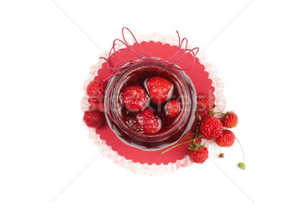 Strawberry jam Stock photo © olira