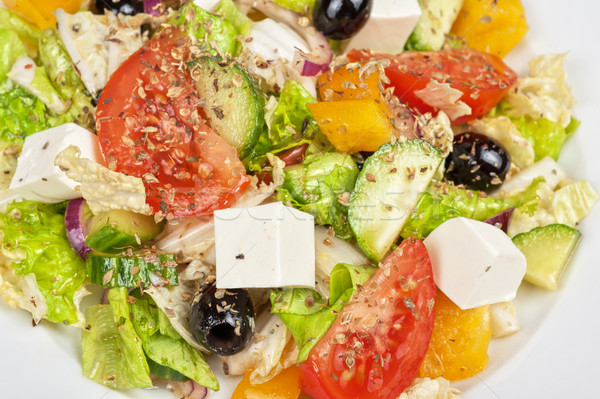 Greek salad Stock photo © olira