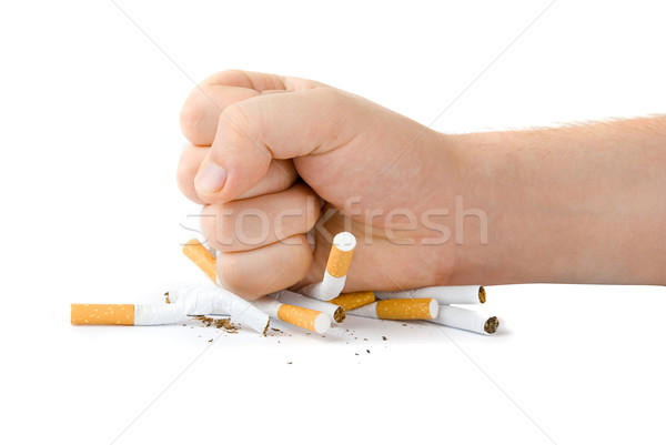 Stock photo: stop smoking
