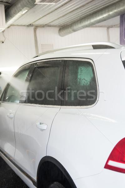 washing car closeup Stock photo © olira