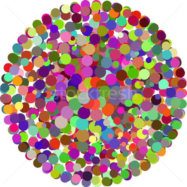 vector color Dots Stock photo © olira