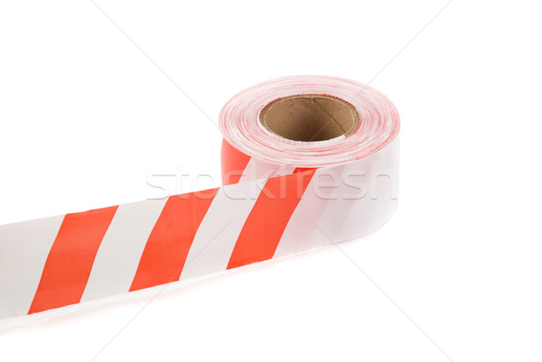 striped safety ribbon Stock photo © olira