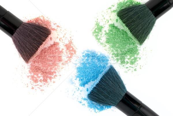Three color powder Stock photo © olira