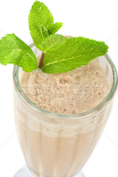 chocolate milk shake Stock photo © olira