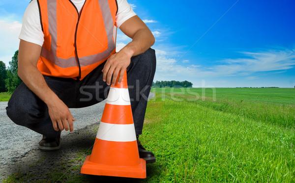 road worker Stock photo © olira