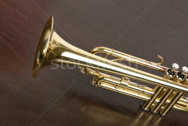 trumpet Stock photo © olira