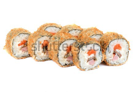 Stock photo: Roasted roll