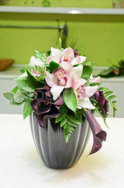 Wedding Bunch of flowers Stock photo © olira