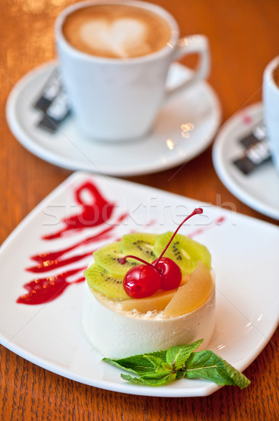 tasty dessert Stock photo © olira