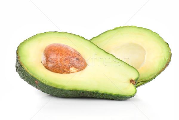 авокадо фрукты изолированный белый природы фон Сток-фото © olira