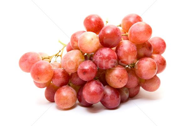 ブドウ クラスタ ピンク 孤立した 白 食品 ストックフォト © olira