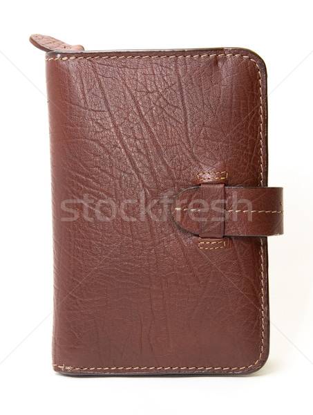 leather brown purse Stock photo © olira