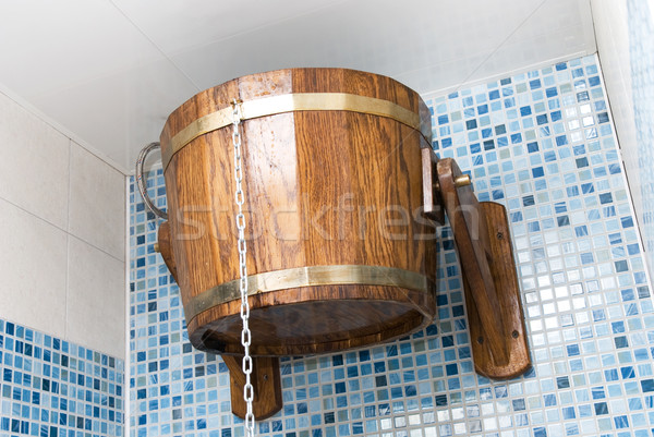 Sauna kova su sağlık Metal Stok fotoğraf © olira