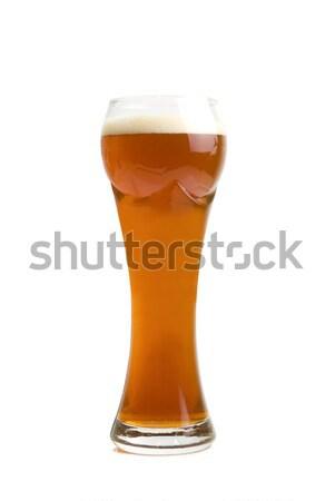 коричневый пива стекла изолированный белый продовольствие Сток-фото © olira