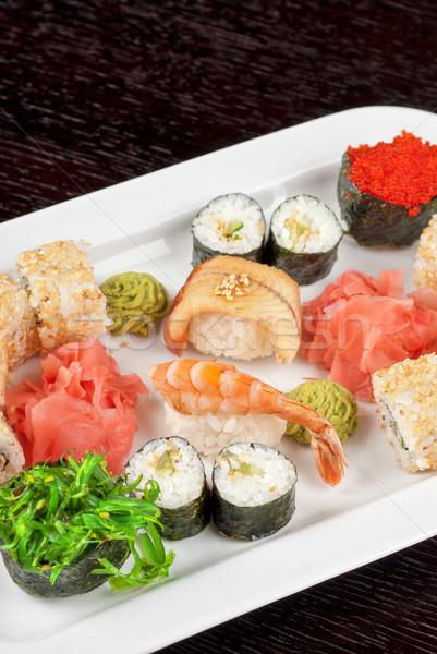 sushi set Stock photo © olira