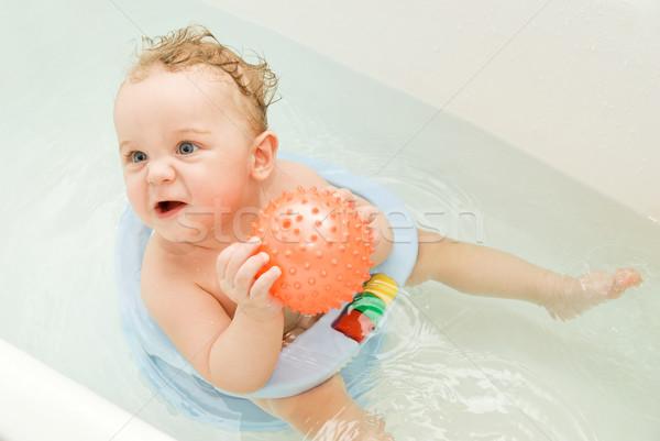bathing Stock photo © olira