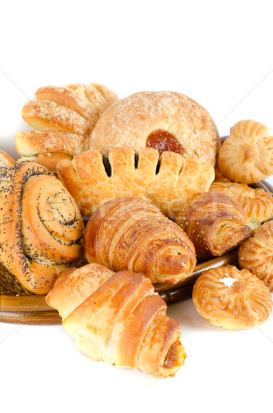 Bakery foodstuffs set Stock photo © olira