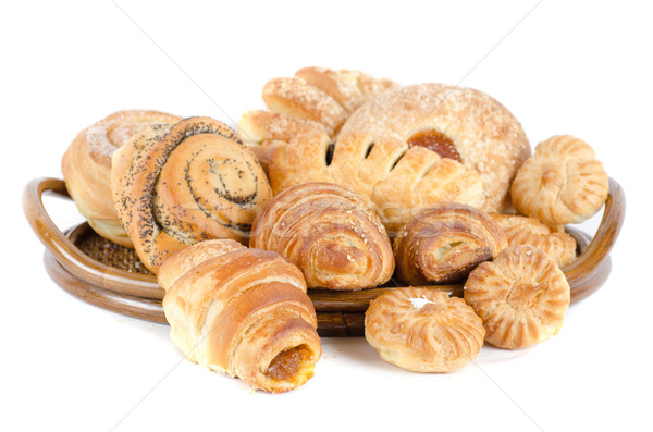 Bakery foodstuffs set Stock photo © olira