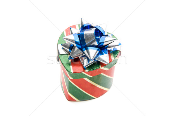 one heart shaped gift box  Stock photo © olira