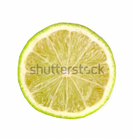извести белый фон зеленый коктейль лимона Сток-фото © olira