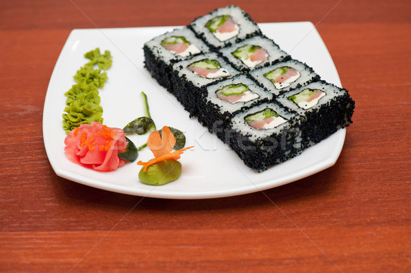 суши Японский кухня фон сыра Сток-фото © olira