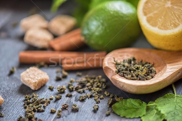 berries  tea Stock photo © olira
