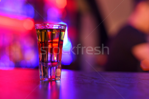 drink shot  Stock photo © olira