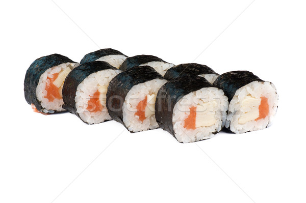 sushi fresh maki rolls Stock photo © olira