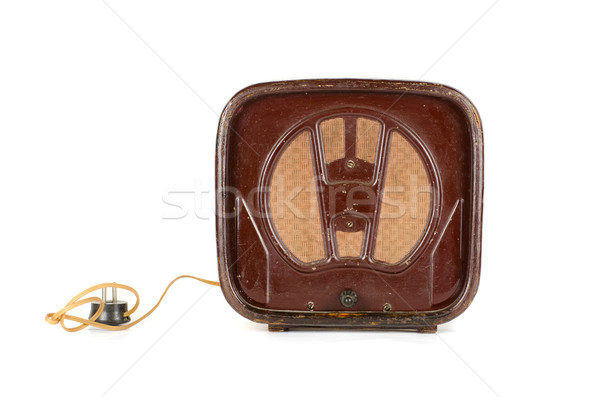 Old Radio Stock photo © olira